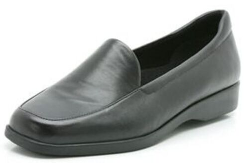 pelle Ladies Clarks nera K in morbida da Mocassino donna Georgia 8pqw6R