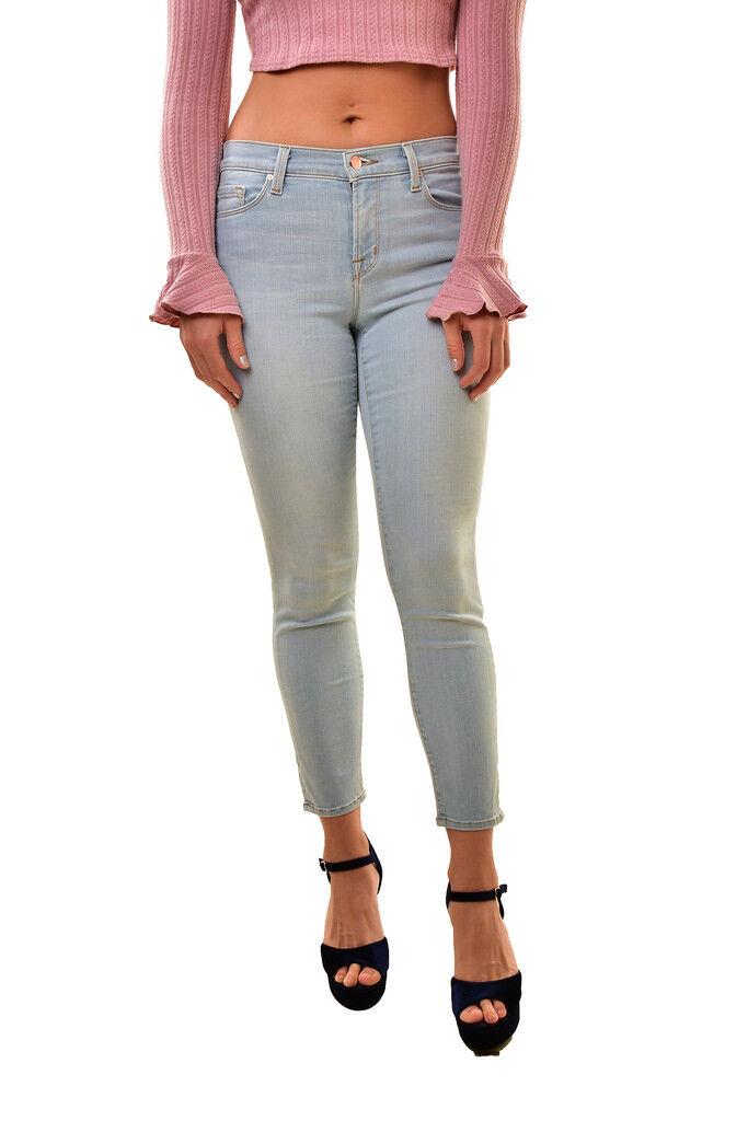 J BRAND Women's Capri 835C076 Mid Rise Jeans Even Tide Size 25 RRP  209 BCF810