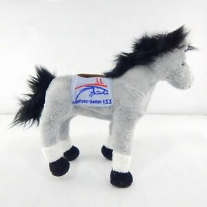 TY Beanie Baby 133 Kentucky Derby Gray Horse w/ Tags