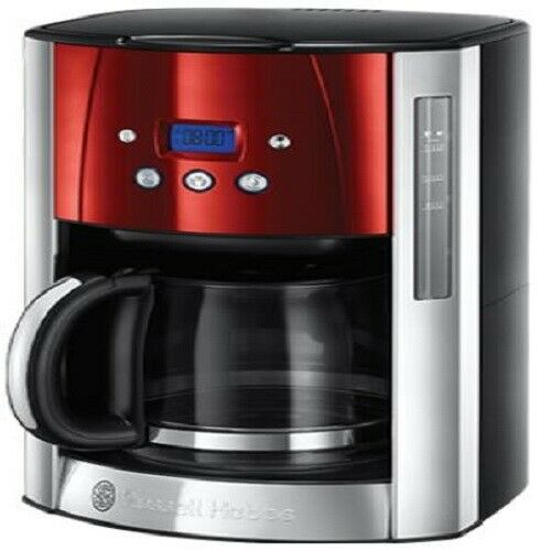 Russell Hobbs 23240 Luna Red Coffee Maker 100w 1.8l