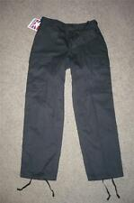 BDU Pants Trousers 31x29 Propper Small Short Black Cargo Men Boys #6