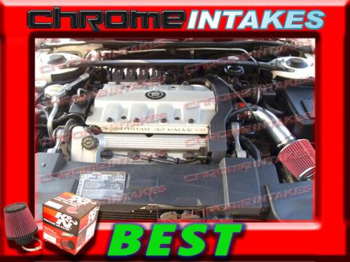 K/&N+RED NEW 1996 1997 1998 1999 OLDSMOBILE AURORA 4.0 4.0L V8 AIR INTAKE KIT