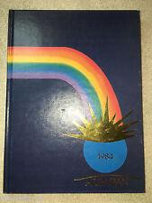1984 Agrarian Yearbook Wheat Ridge High School Colorado Annual Genealogy CO