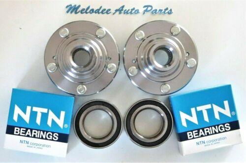 CROSSTOUR ACURA TSX Front Wheel Hub W// OEM NTN Bearing Set For  HONDA ACCORD