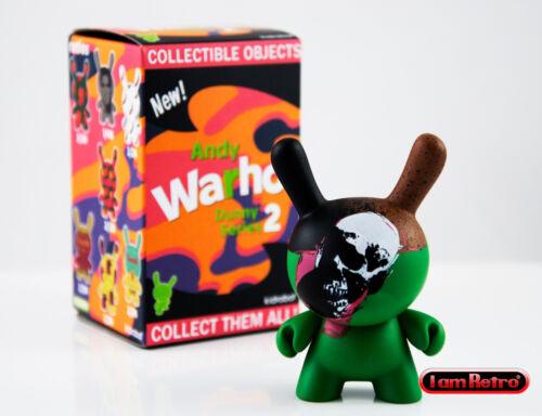 Skull Andy Warhol Dunny Series 2 Kidrobot Brand New Vinyl Figure