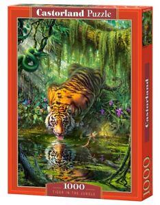 Tigre nella giungla Puzzle 1000 PEZZI, Castorland