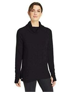 Essentials-Women-039-s-Studio-Terry-Long-Sleeve-Graphite-Size-X-Small