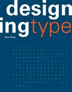 Designing Type by Cheng, Karen Paperback Book The Fast Free Shipping