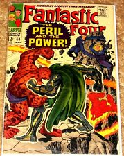 MARVEL #60 FANTASTIC FOUR APP OF INHUMANS VG-FN 12c COVER FREE BAGGED & BOARDED