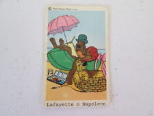 Vintage Walt Disney Production 60's Circ. Lafette O Napoleon Card from Sweden