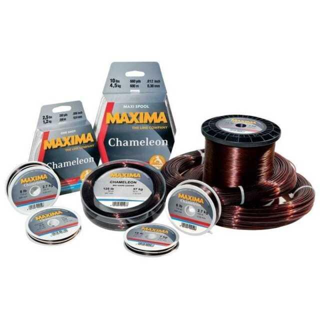 Fishing Line Maxima Chameleon 600M Metre 660 Yards Maxi Spools