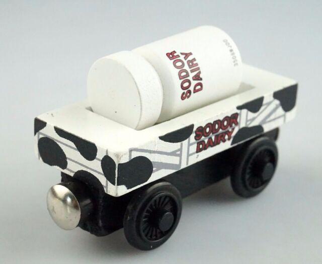 Milk Barrel Car Thomas&Friends-Wooden-Railroad-Train-US-SELLER-UNBRANDED-New