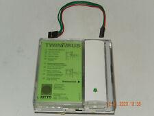 Ritto Tastenmodul 4751//00 weiß TwinBus Twin Bus 1 Tasten Klingel 4751//70 geb gZ