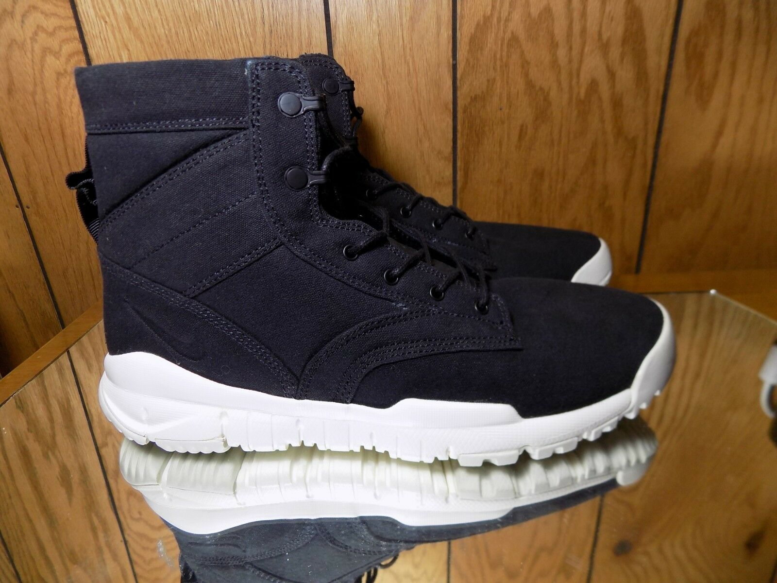 NIKE SFB 6  CANVAS NSW NSW NSW BOOTS MENS 13 NEW 844577-001 BLACK WHITE 175e5f