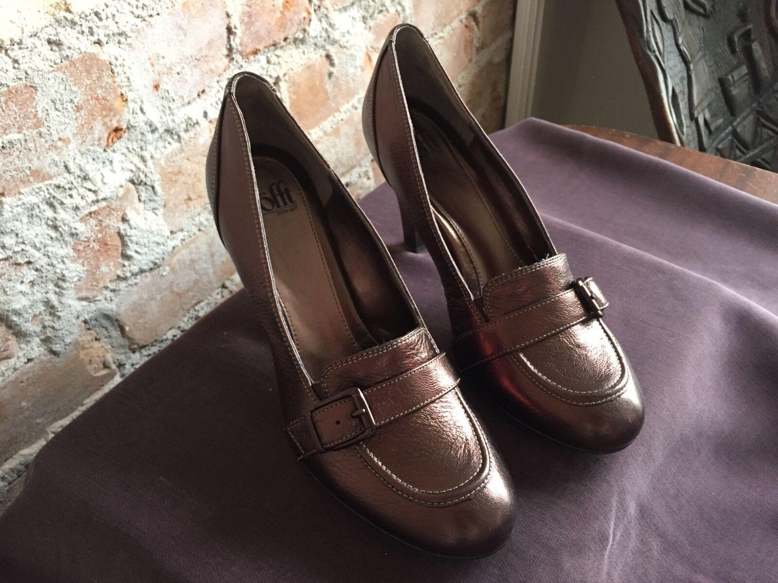 Söfft Copper Fadia Copper Söfft Leder Heels, Größe 10 890182
