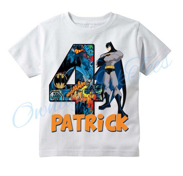 THOR Comic Superhero Custom T-shirt PERSONALIZE tshirt Birthday  Add NAME//AGE