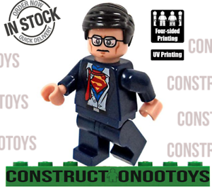 SUPERMAN CLARK KENT lego Custom PAD UV PRINTED Minifigure SUPERMAN wm386
