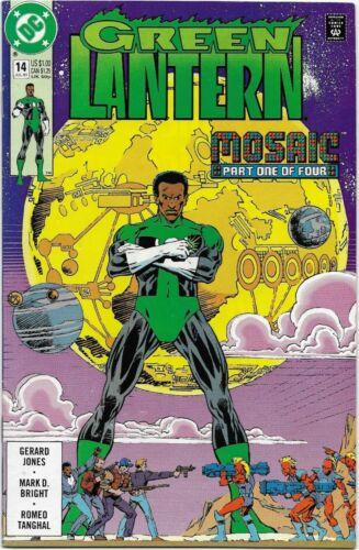 Green Lantern #14 3rd Series John Stewart // Mosaic VF//NM
