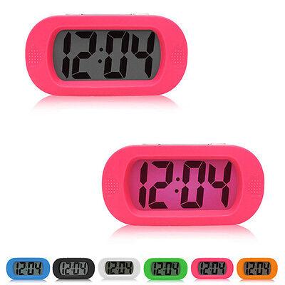 Gift New Bedroom LED Clock Electronic Alarm Clocks Mute No Battery Home Luminous