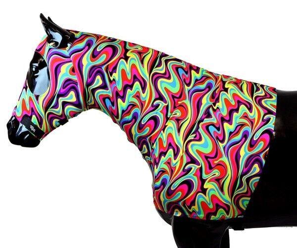 Sleazy Sleepwear para caballos Capucha Tango  grande con cremallera