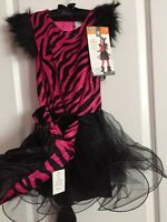 Enchanted Witch Halloween Costume Youth Dress Up Girls Sz Small 3+ Hat