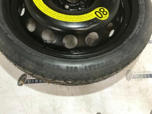 """2013-2018 Seat Ibiza 18/"""" espacio Saver Rueda de Repuesto VW9"""