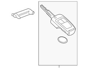 Genuine GM Key 94543198