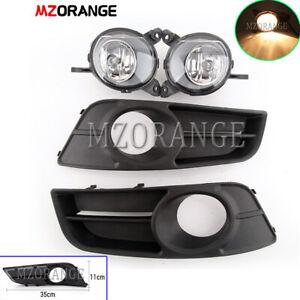 Left-Right-Side-Front-Fog-Light-Lamp-amp-Cover-for-Toyota-Corolla-ZZE122-2004-2007