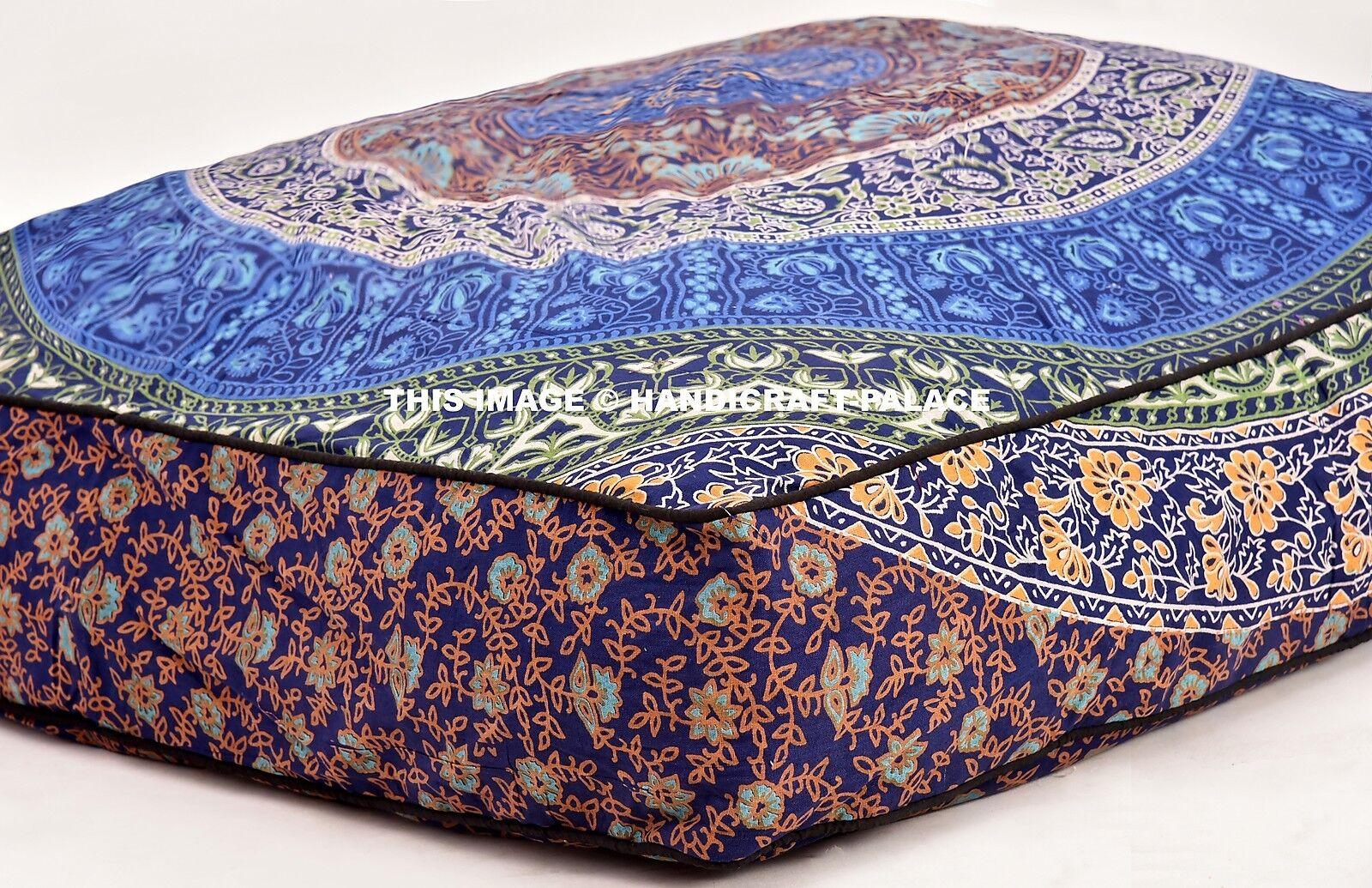 Indian Mandala Large Pet Bed Mattress Dog Cat Pad Mat Seat Cushion Pillow Soft
