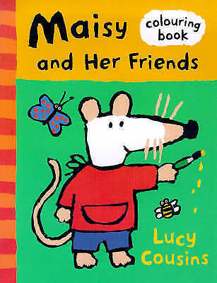 1 of 1 - Maisy And Friends Colouring Book, Cousins, Lucy, Very Good Book