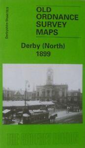 Details about Ordnance Survey Detailed Maps Derby North Derbyshire 1899  Sheet 50.09 New Map