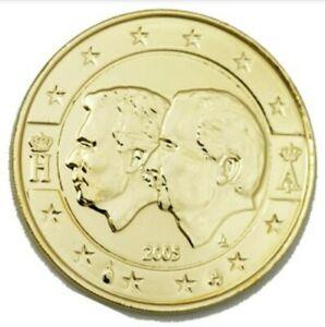 2 Euro Doré à l'Or fin, Belgique-Union économique luxembourgeoise, Belgique 2005