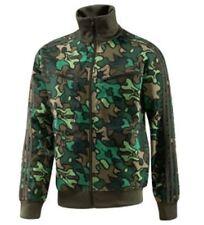 RARE VINTAGE~Adidas SAFETY CAMO Track Top sweat shirt Firebird Jacket~Men sz 4XL