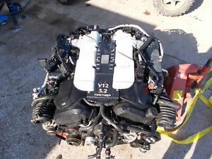 2017 Aston Martin Db11 5 2 V12 Twin Turbo Komplett Motor Ae31 Ebay