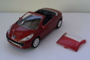 NOREV-3-Inches-Peugeot-207-Cc-Red-1-60-New-IN-Box
