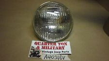 """Jeep Willys MB GPW DODGE WC 6 volt headlight bulb 5 3/4"""" Fits Correctly"""
