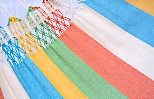 Double Hammock parajuru XL-Fair Trade Cloth Hammock