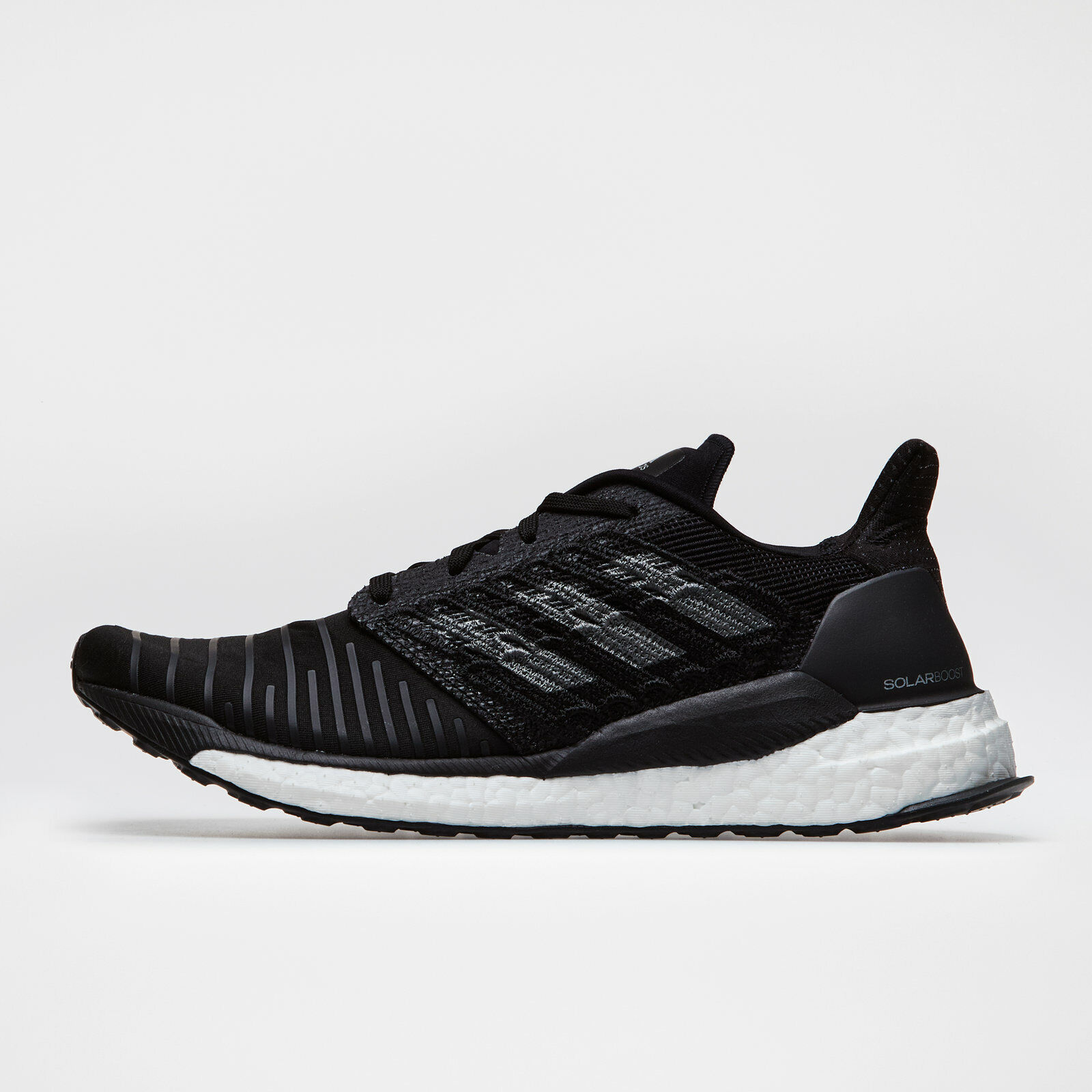 Adidas Para Hombre Boost Solar Negro Zapatillas Para Correr Deportes Entrenadores Calzado