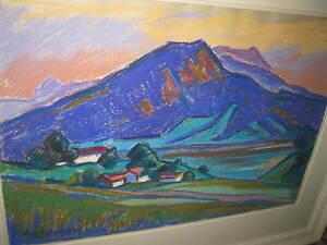 Schweinitzer-Rudi-1923-Abend-Am-Tegernsee-Am-Ringberg-Museo