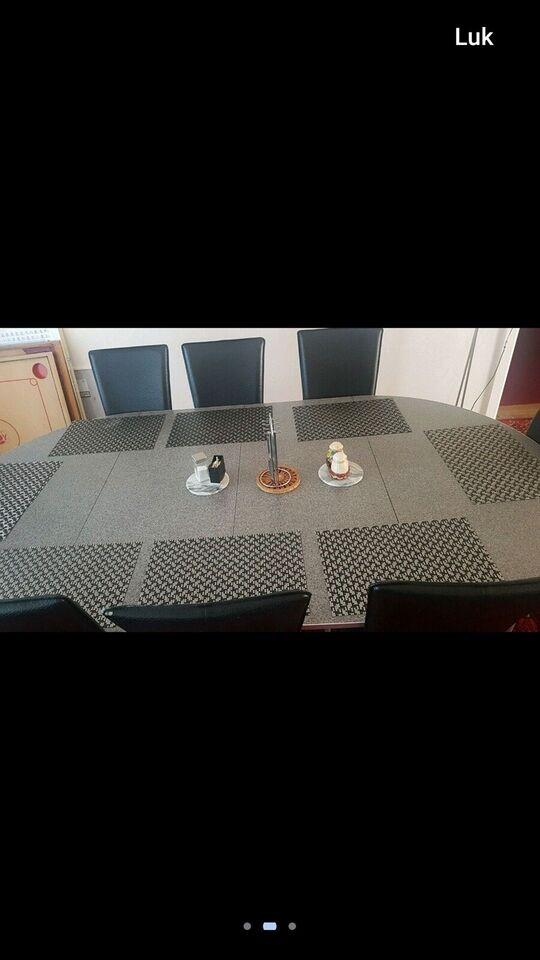 Spisebord, b: 120 l: 220