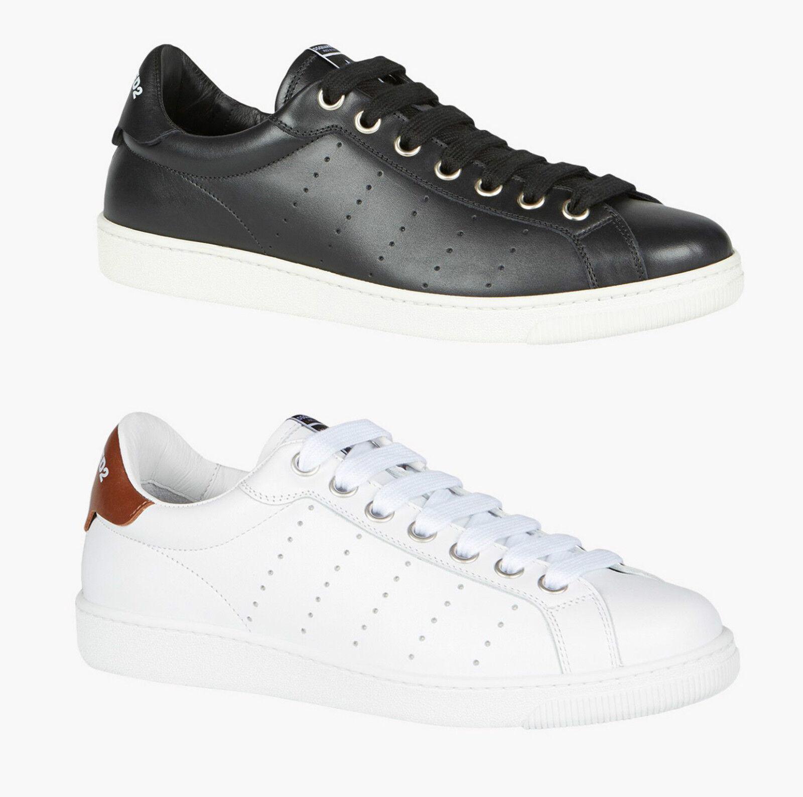 DSQUArojo² SANTA MONICA Hombres Zapatos de Zapatillas deporte 100%AUT