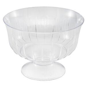 Plastica-trasparente-effetto-di-cristallo-usa-e-getta-Starter-gelato-dessert-ciotole-Confezione-da