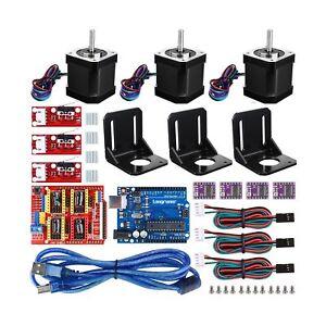 Details about Longruner For Arduino Professional 3D printer CNC Kit, GRBL  CNC Shield +UNO R