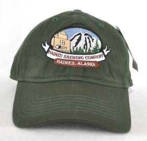 67482221bc9 Image is loading HAINES-BREWING-COMPANY-ALASKA-Microbrewery-Ball-cap-hat-