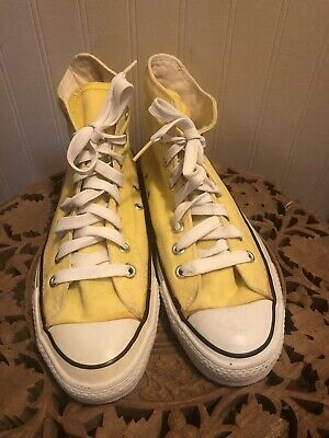 Vintage Yellow Converse All Star Chuck