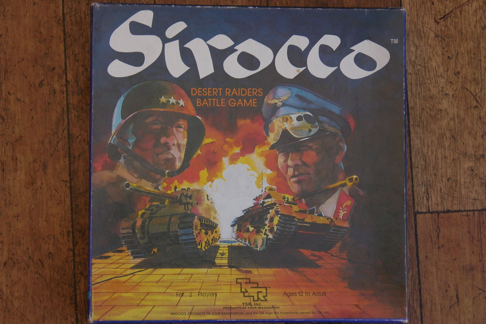 Tsr, Sirocco Desierto Raiders Battle