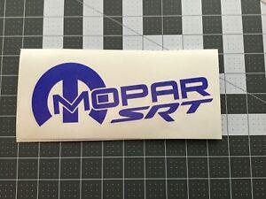 MOTORSPORT VINYL DIE CUT STICKER SRT 2X MOPAR RACING DECAL HEMI