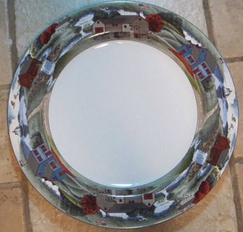 Epoch Exclusives Pioneer Bay Round E203 13 Inch Serving Platter Chop Plate