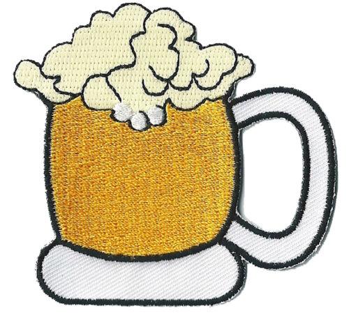 Patch écusson patche Chope de Bière Biere Brasserie Beer brodé thermocollant