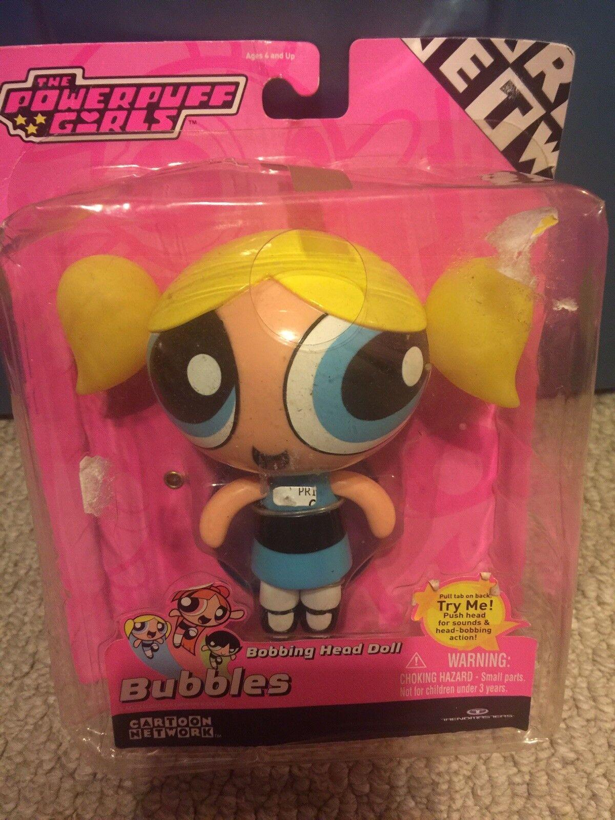 NEW 2001 Talking Bubbles Bobbing Head Doll 5